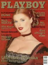 Playboy Hungary / Ungarn 1999/12 Maria Luisa Gil - Ullmann Mónika  Heather Kozar