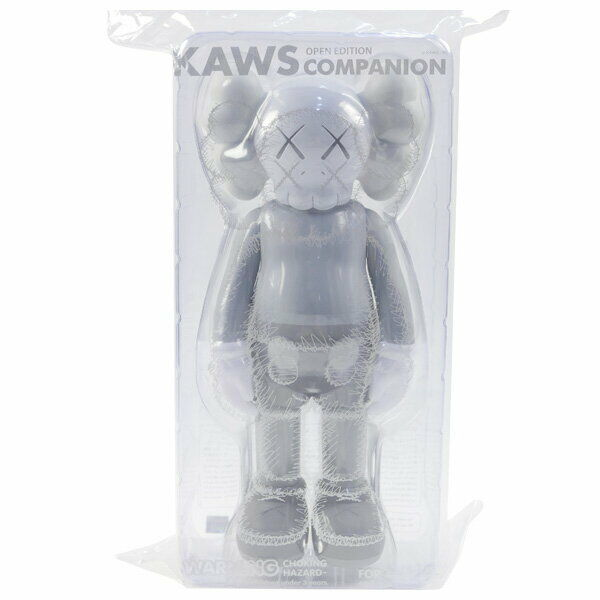 MEDICOM TOY  KAWS COMPANION OPEN EDITION Figure Gris FREE