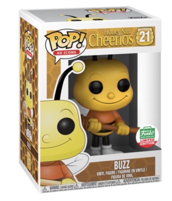 Funko Pop Ad Icon Buzz Cheerios 21 Exclusive Funko Shop