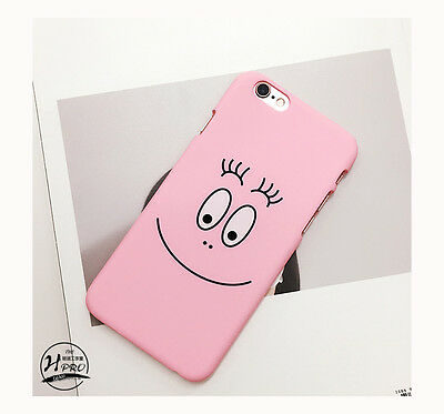 Cute Cartoon Smile Face Heart Cactus Hard Phone Case Cover For iPhone 6S 6SPlus