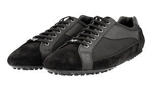 Neuf de 5 Chaussures Nouveau Sneaker Noir Prada 9 43 43 voiture luxe de Kue744 par Chaussure PZwxqdgnP0