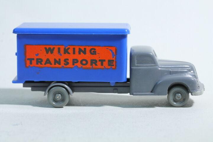 175 Typ 1B Wiking Hoher Koffer-LKW Ford 1953 - 1954   basaltgrau    Zuverlässige Qualität