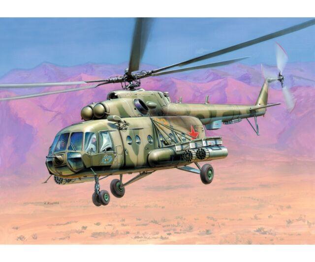 Zvezda 1:72 Sov. MIL MI-17 HIP-H Helikopter