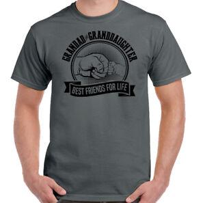Opa-und-Enkelin-Best-Friends-For-Life-Herren-Lustiges-Vatertag-T-Shirt