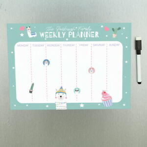 Personalised Llama Magnetic To Do List Wall Planner Whiteboard With Pen Ebay