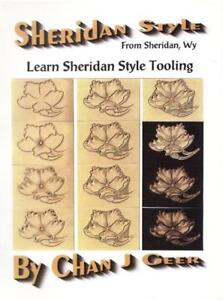 Learn-Sheridan-Style-Leather-Tooling-by-Chan-Geer-Leathercraft-Book