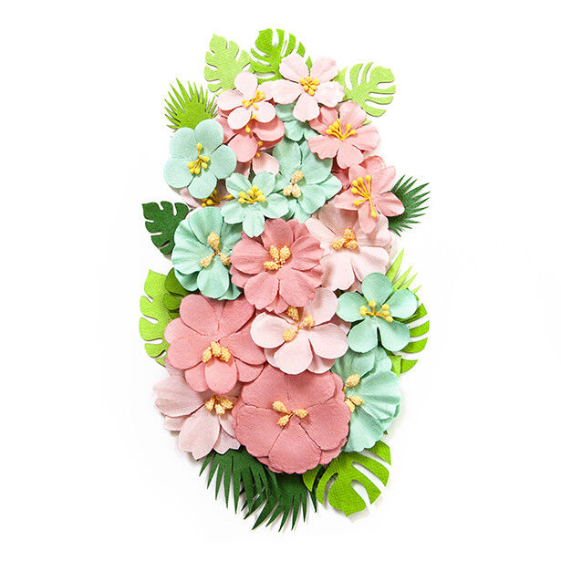 Prima Havana Camila Mulberry Paper Flowers Leaves 632557 Ebay