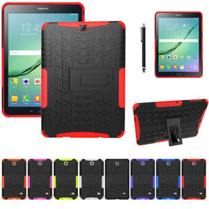 buy popular 54a39 b50ca Details about Shockproof Heavy Duty Rubber Hard Case For Samsung Galaxy Tab  S2 9.7
