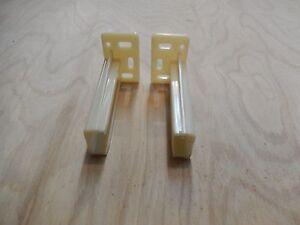 Rear Mounting Brackets For Drawer Slides 2 Pair Ebay