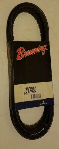"""Napa Browning 3VX850 Gripnotch Cogged V-Belt 3VX-Section 3//8/"""" Wide 85/"""" Length"""