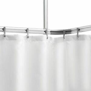 Barre En Aluminium Pour Le Rideau De Douche Baignoire Salle De Bain Sealskin Ebay