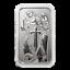 thumbnail 2 - 1oz .999 Silver Bar - Scottsdale Mint Archangel Silver Bullion Bar #A522