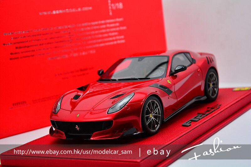 para barato BBR 1 18 Ferrari F12 TDF Rojo Rojo Rojo  de moda