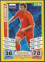 TOPPS MATCH ATTAX  BRAZIL 2014 WORLD CUP- #201-RUSSIA-ALAN DZAGOEV