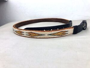 Hitched-Horsehair-belt-Deer-Lodge-Montana