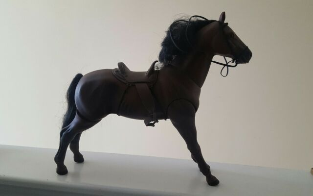 """1/6 SCALE POWER TEAM HORSE M&C PEACEKEEPERS FOR 12"""" FIGURES DRAGON GIJOE LAST ON"""