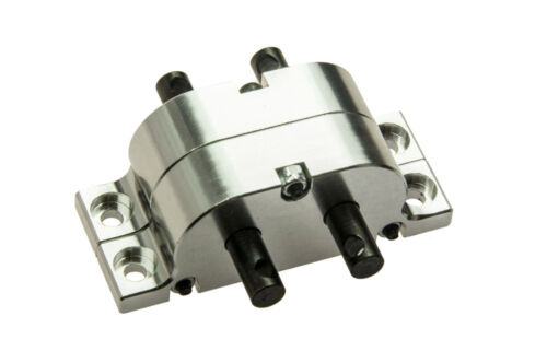 1x Transmission Case Transfer Case for SCX10 4WD 1//10 RC crawler 1:14 RC Truck