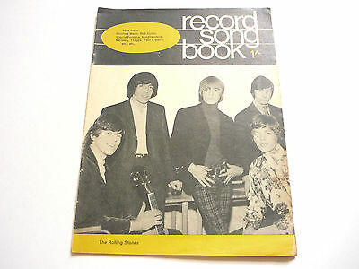 Record Song Book Magazine 1-7-1966? The Rolling Stones on Cover