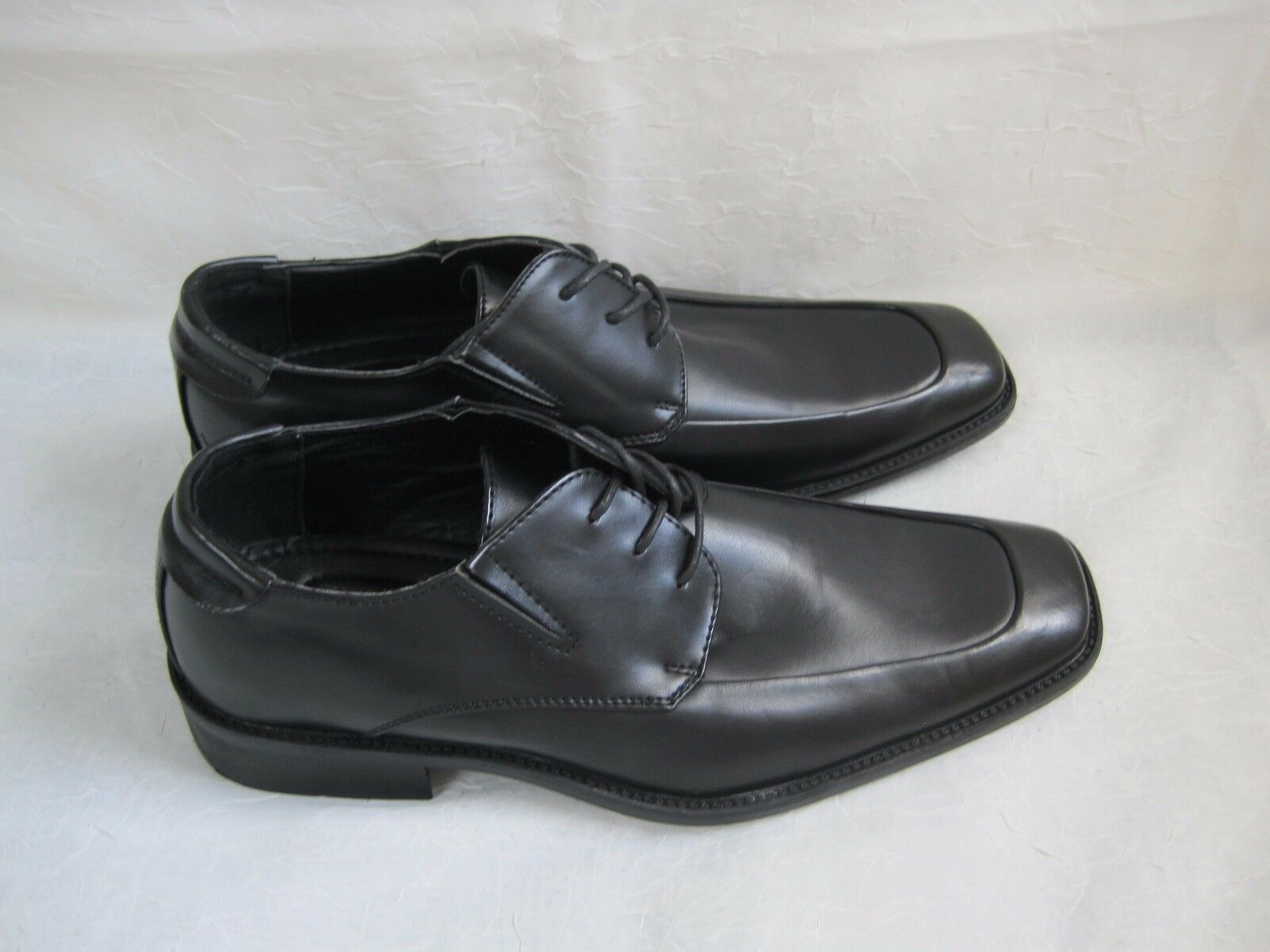 New! Mens SM New York 66283 Klik Dress Shoes Style 66283 York Size 8 Black  20F 1d54c0