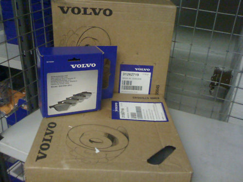 Volvo C30 Front Brake Disc/'s And Pads 300mm Genuine