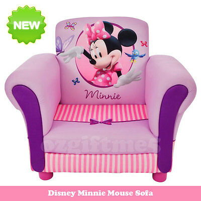 New Disney Minnie Mouse Kid Toddler Sofa Lounge Couch Chair