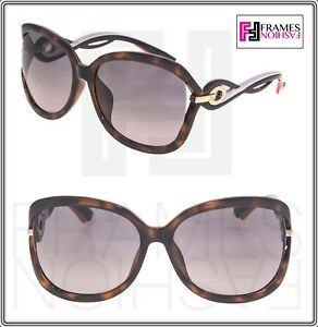 d99f616b78d Image is loading CHRISTIAN-DIOR-TWISTING-Brown-Havana-Pink-Rubber-Gradient-