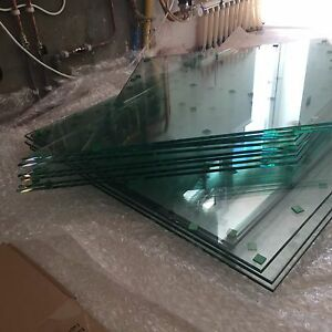 Details about Custom Cut To Size Bespoke Toughened Glass Panel 6mm 8mm 10mm  15mm 19mm
