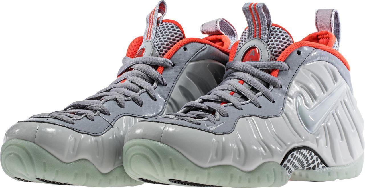Nike air foamposite pro yeezy ridotta dimensione - di puro platino grey 616750 003