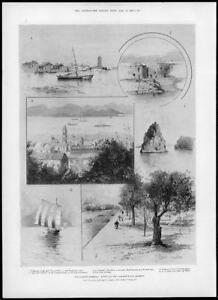 1898-Antique-Print-CHINA-CRISIS-Hankou-Kowloon-Wuhu-Yangtze-River-113