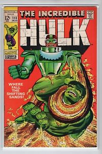 Incredible-Hulk-Issue-113-Marvel-Comics-March-1969-NM