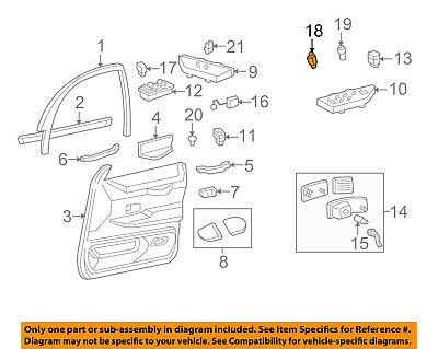FORD OEM Fuel Door Gas Cap Hatch-Lock Switch F2AZ9B242A