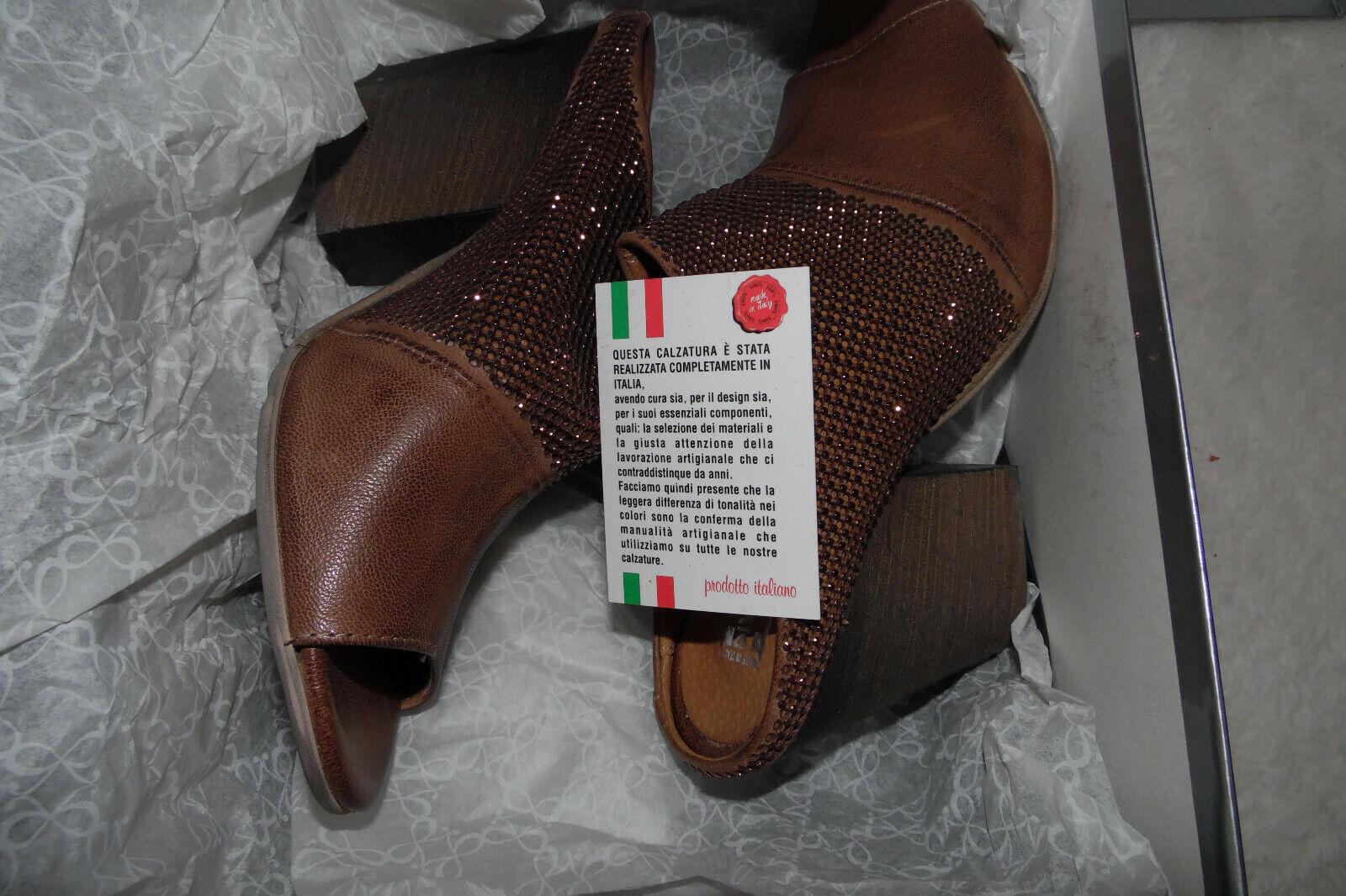 DIVINE FOLLIE Damänner Schuhe G.37 NEU   Sommer   Sandalen   TARTORA NATUR Italien