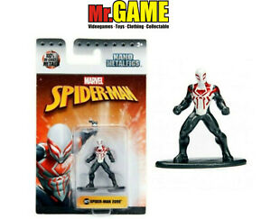 MARVEL-AVENGERS-SPIDERMAN-2099-NANO-METALFIGS-100-DIE-CAST-METAL-NUOVO-ORIGNALE