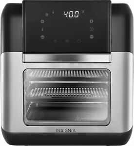 Insignia- 10 Qt. Digital Air Fryer Oven - Stainless Steel