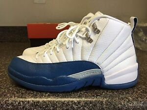 65b28093899 Sz 10 Nike Air Jordan Retro 12 French Blue 1 2 3 4 5 6 7 8 9 10 11 ...