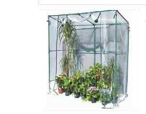 Serra da giardino terrazzo balcone per piante fiori vasi metallo a