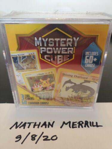 Possible Charizard Sealed Pokemon Mystery Power Cube Venusaur? Blastoise