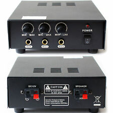 Móvil/PA vehículo 30W amplificador/Amp - 12v DC-Bocina Altavoz público canvasing