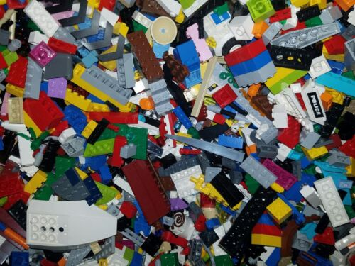 Pieces,Figures 5 Lb Bulk Lot of Assorted Loose LEGO Building Bricks