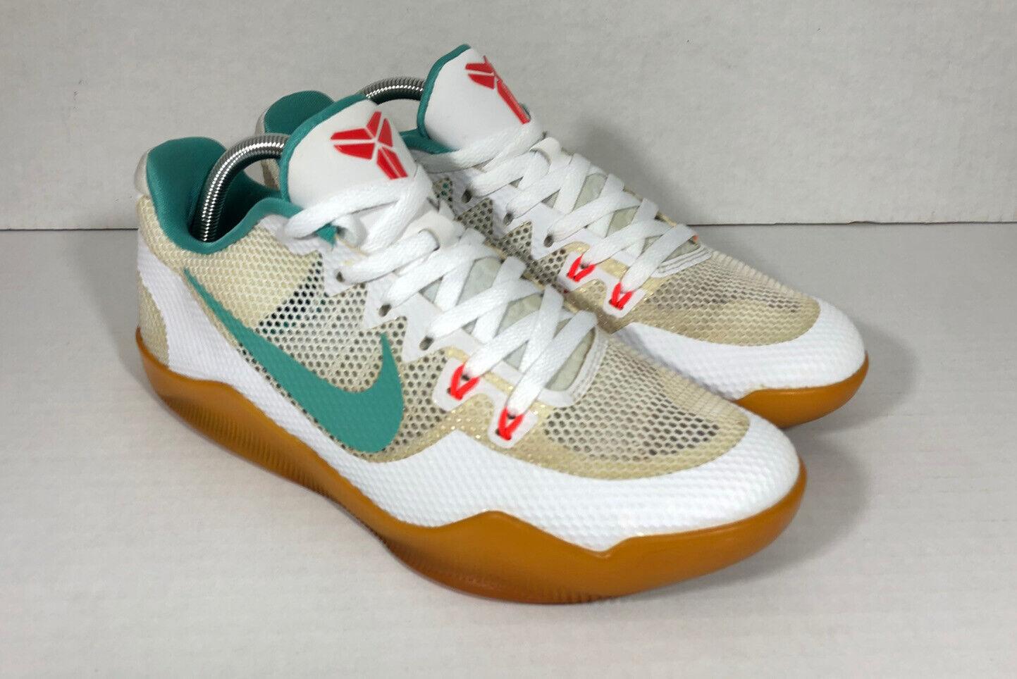 Sz 10 Nike Kobe XI 11 Summer Pack White