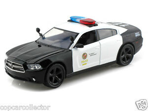 Motormax 1 24 lapd los angeles police department dodge for Motor village dodge los angeles