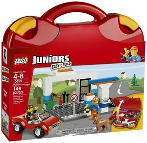 LEGO JUNIORS 10659 -VALISE DE CONSTRUCTION ROUGE -NEUF ET SCELLE -NEW AND SEALED