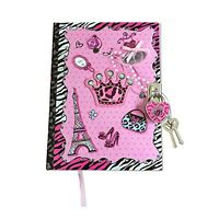 Smitco Llc Girls Diary With Lock And Key - Blank Journal With 300 Lined Pages In