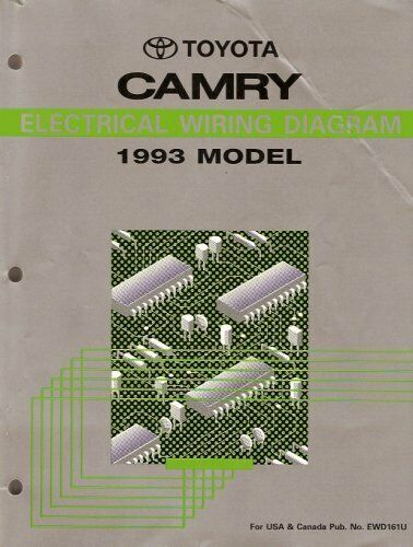Electrical Wiring Diagram For 1993 Toyota Camry