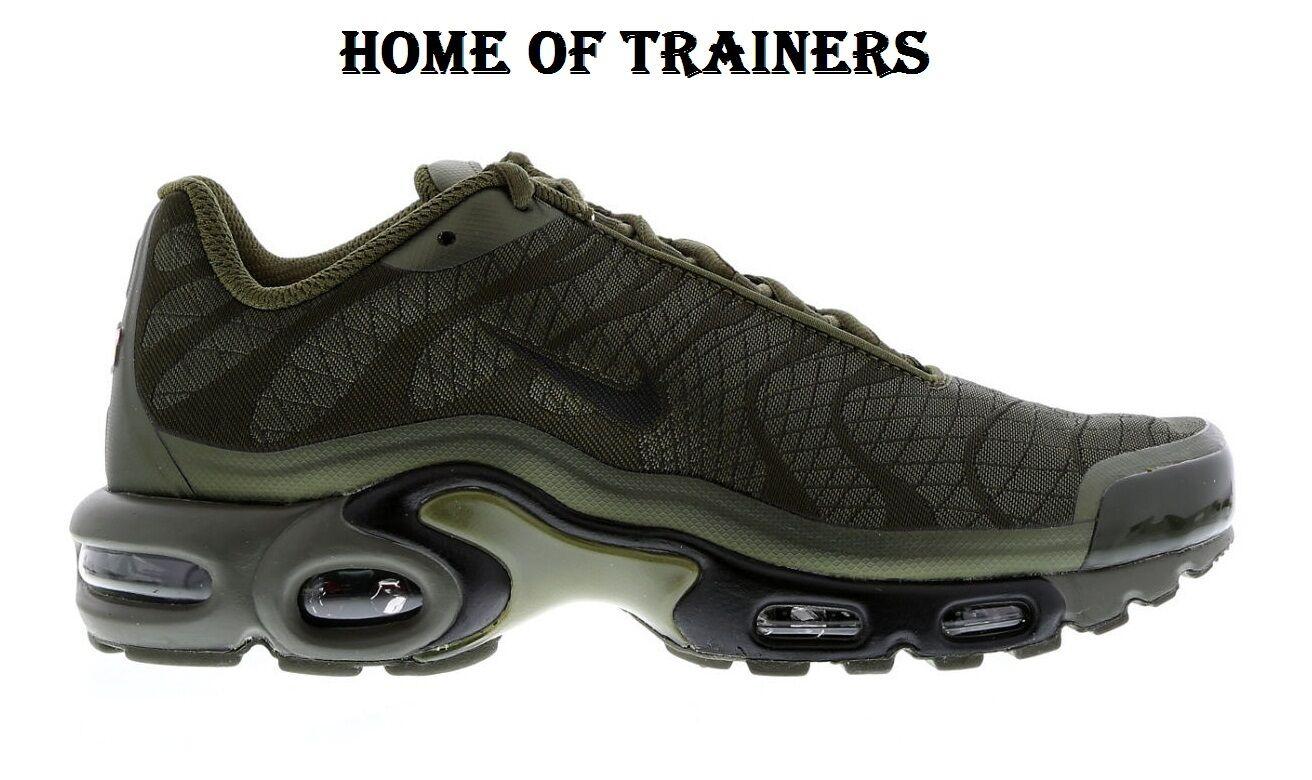 Nike air max   sintonizzati 1 tn verde oliva uomini & donne allenatori tutte le dimensioni