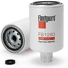 Original Fleetguard Fuel Filter//Water Separator FS1280