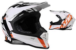 LAZER-X8-HELMET-WHIP-WHITE-ORANGE-MOTOCROSS-MX-ENDURO-QUAD-ATV-BMX-MTB-CHEAP-NEW