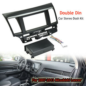 Car-Stereo-Single-Double-Din-Dash-Wiring-Harness-Kit-For-07-13-Mitsubishi-Lancer