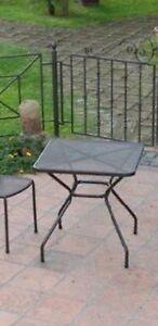 Tavoli In Metallo Da Esterno.Tavolo In Metallo Quadrato 70x70 Da Esterno Non Disponibile Ebay
