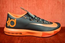0eb31977330a item 6 WORN ONCE Nike KD VI 6 Anthracite Total Orange Kevin Durant Size 9  599424-007 -WORN ONCE Nike KD VI 6 Anthracite Total Orange Kevin Durant  Size 9 ...